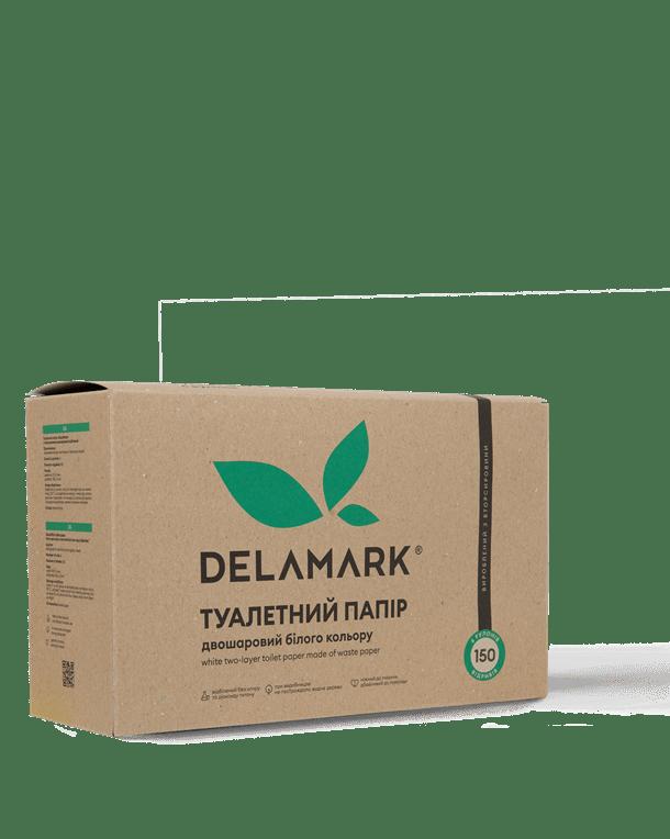 Туалетная бумага DeLaMark