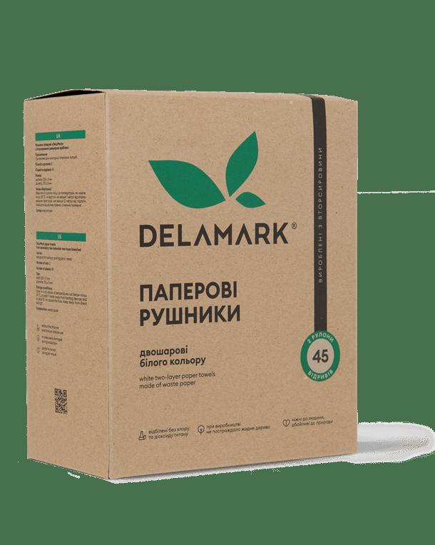 Паперові рушники DeLaMark