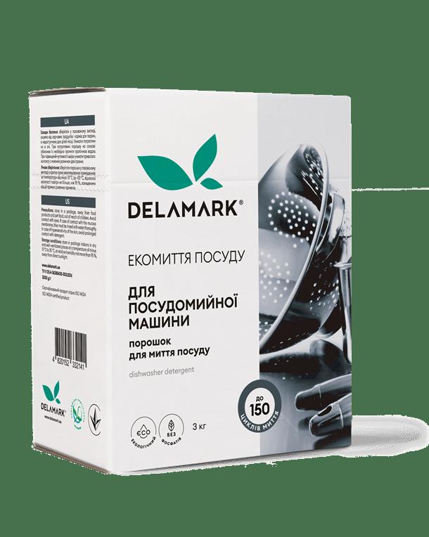 Порошок для посудомоечной машины DeLaMark, 3 кг