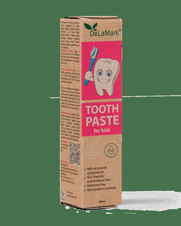 Hygienic Toothpaste for Children, 80 ml