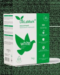 Пральний порошок DeLaMark White екологічний, 1 кг