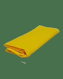 Желтое кухонное полотенце из вафельной ткани